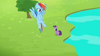 """Rainbow """"I can fly fast enough"""" S4E10"""