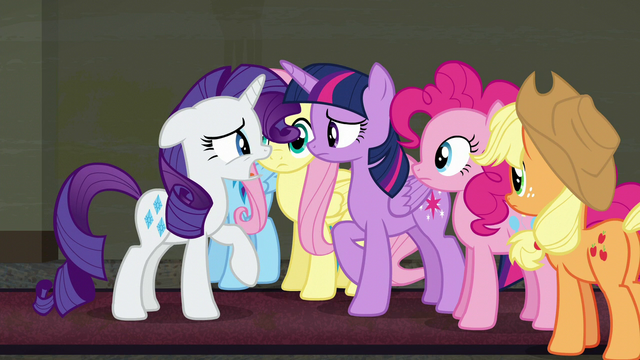 "File:Rarity ""if we don't open tonight"" S6E9.png"