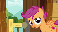 "Scootaloo ""Something awesome!"" S6E4"