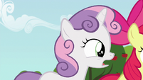 """Sweetie Belle """"somepony might even come to us"""" S6E19"""