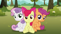 Cutie Mark Crusaders back on the ground S6E19