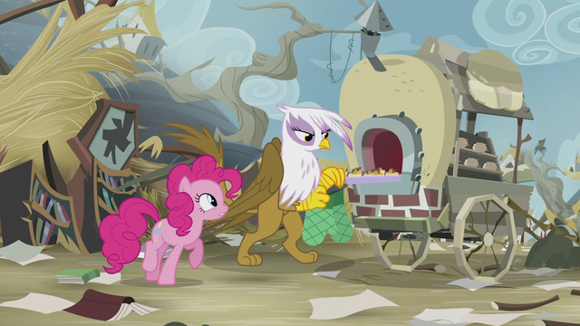 File:Pinkie asks Gilda for help to save Rainbow S5E8.png