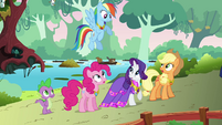 Rainbow complaining about dinner with Discord S03E10