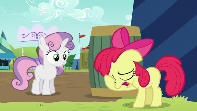 File:Apple Bloom puts her hoof on her face S5E17.png