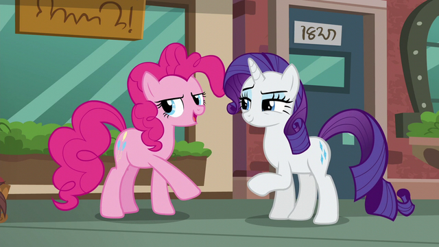 "File:Pinkie ""I can sneak away to pick out a rock pouch!"" S6E3.png"