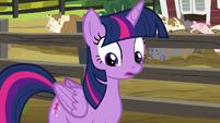 Twilight Sparkle in surprise S6E10