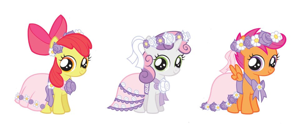 Apple bloom wedding