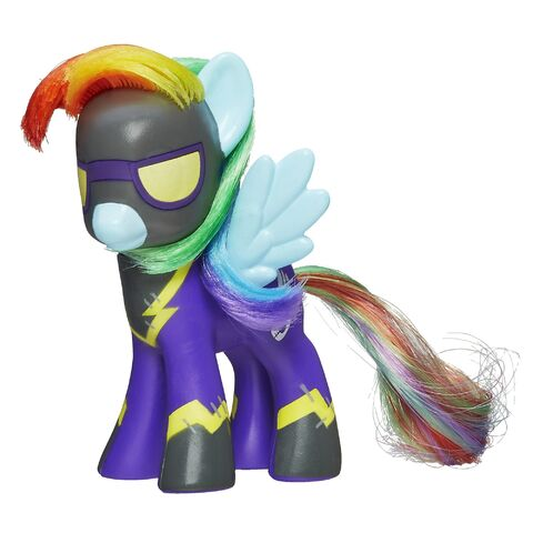 File:MLP Collector Series Shadowbolt Rainbow Dash toy.jpg