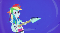 Rainbow Dash getting blown back EG2