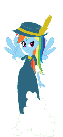 File:FANMADE Rainbow Dash Human Ceremony.png