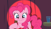 Pinkie Pie doing stand up comedy S2E13