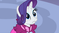 Rarity scared S2E10