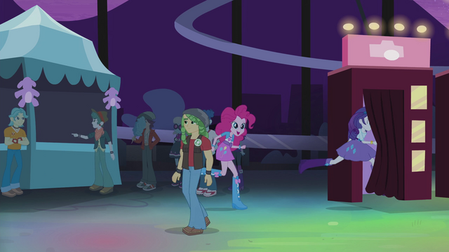 File:Pinkie and Rarity run into first photo booth EG2.png