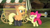 "Apple Bloom ""that is the kind of looking-after-me"" S4E17"