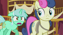 "Lyra ""our whole friendship was based on a lie?!"" S5E9"