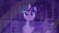 Twilight looks through the window S5E12