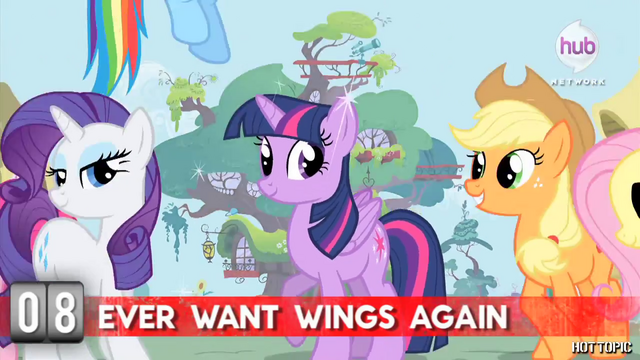 "File:Hot Minute with Rarity ""ever want wings again"".png"