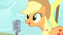 Applejack 'Let's talk turkey!' S4E14