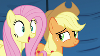 Fluttershy excited to see exotic animals S6E20