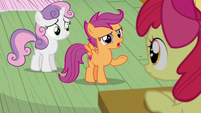"Scootaloo ""That kinda seems like a lot"" S6E4"