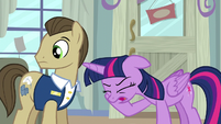 Twilight frustrated groan S5E3