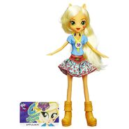 Friendship Games School Spirit Applejack doll
