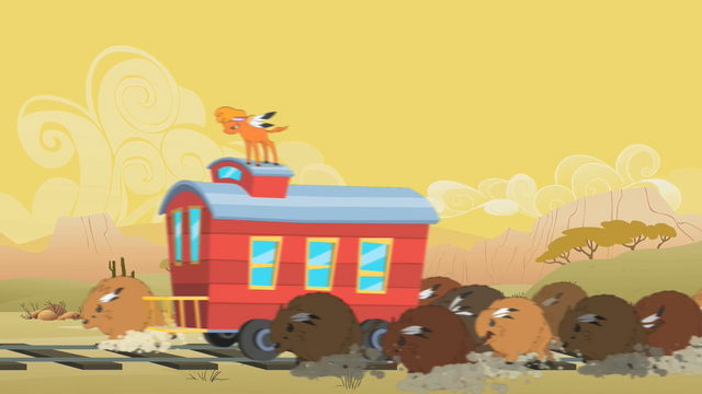 File:Little Strongheart and Buffalo Stealing Caboose S1E21.png