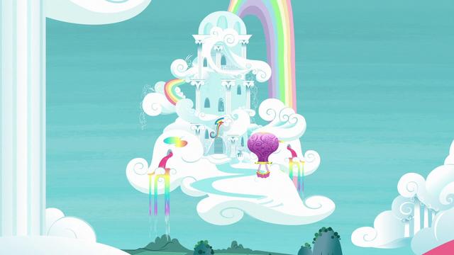 File:Rainbow Dash's cloudominium exterior S6E14.png