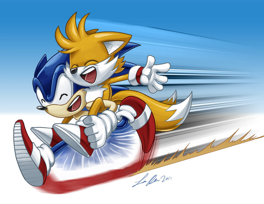 Image sonic and tails jpg my little pony friendship is magic wiki
