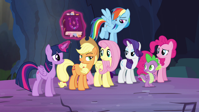 "File:Applejack ""reformed Discord is more obnoxious"" S4E25.png"