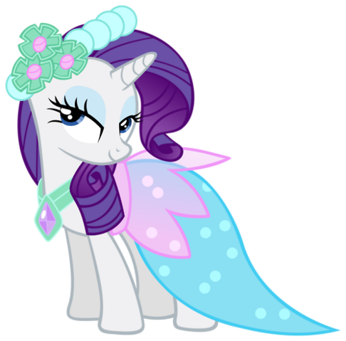 File:FANMADE Rarity royal wedding outfit.png