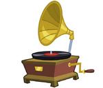 Canterlot Castle phonograph