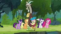 """Discord's """"important role in Equestria"""" S4E25"""
