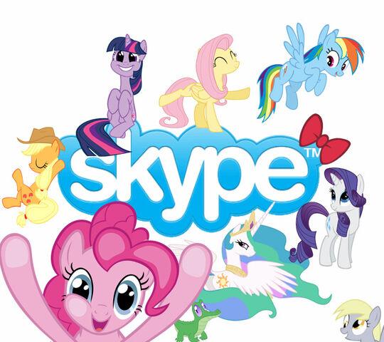 File:FANMADE Skype Pony.jpg