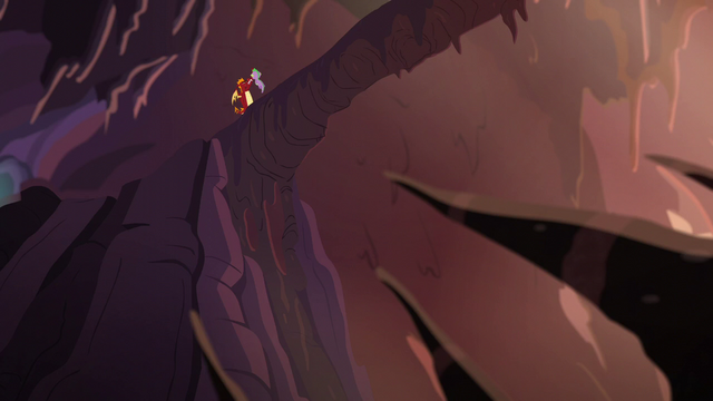 File:Garble dangles Spike over a rock pit S6E5.png