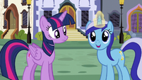 Minuette uses magic S5E12