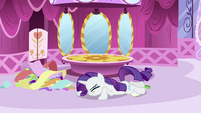 Rarity on the floor S2E23