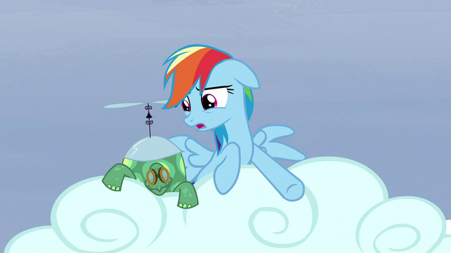"File:Rainbow ""they go three hoof steps forward!"" S5E5.png"