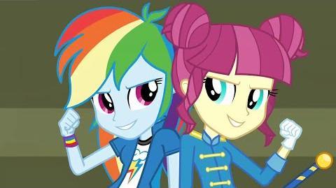 Dutch CHS Rally Song - MLP Equestria Girls Friendship Games
