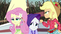 Fluttershy sighing with exhaustion EG4