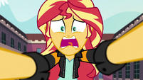 "Sunset Shimmer ""Where's the portal?!!"" EG3"
