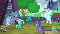 Young Sky Stinger and his family S6E24