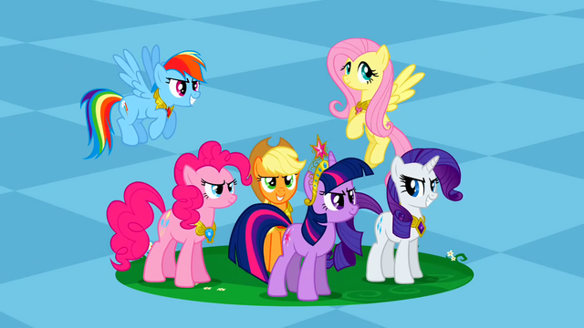 File:Main ponies Spot of Chaos Undone S2E2.png