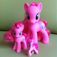 Pinkie Pie size comparison Fashion Style Playful Ponies Ponyville