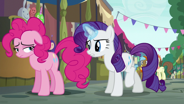 File:Rarity asks Pinkie where her cannon is S6E3.png
