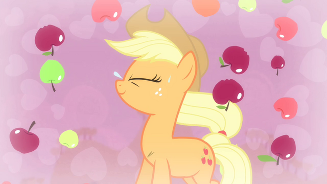 File:Applejack with apples falling S4E13.png