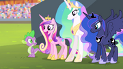 Cadance thanking Spike S4E24