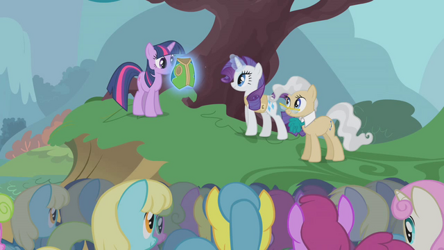 File:Presenting special vest to Twilight S1E11.png