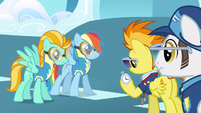 Rainbow Dash we're here S3E7