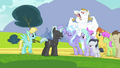 Bulk Biceps behind pegasi crowd S2E22.png